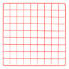 Mini wire grid 14 x 14 - red