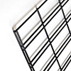 Slatgrid wire panel 2x4-black