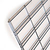 Slatgrid wire panel 2x6 -chrome