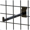 Gridwall 12 inch faceout - black
