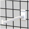 Gridwall 12 inch faceout - white