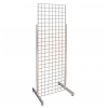 Single Grid unit with Heavy Duty Legs - Chrome