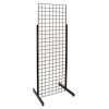 Single Grid unit with Heavy Duty Legs - Black