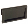Hanging Ticket Holder - metal black